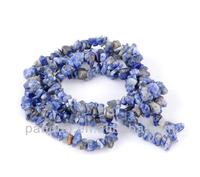 Customize Synthetic Lapis Semi-precious Blue Gemstone Chip Cheap Loose Beads