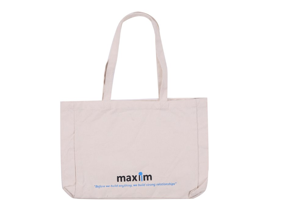 Factory Price Printed Promotional Cotton Canvas Tote Bag