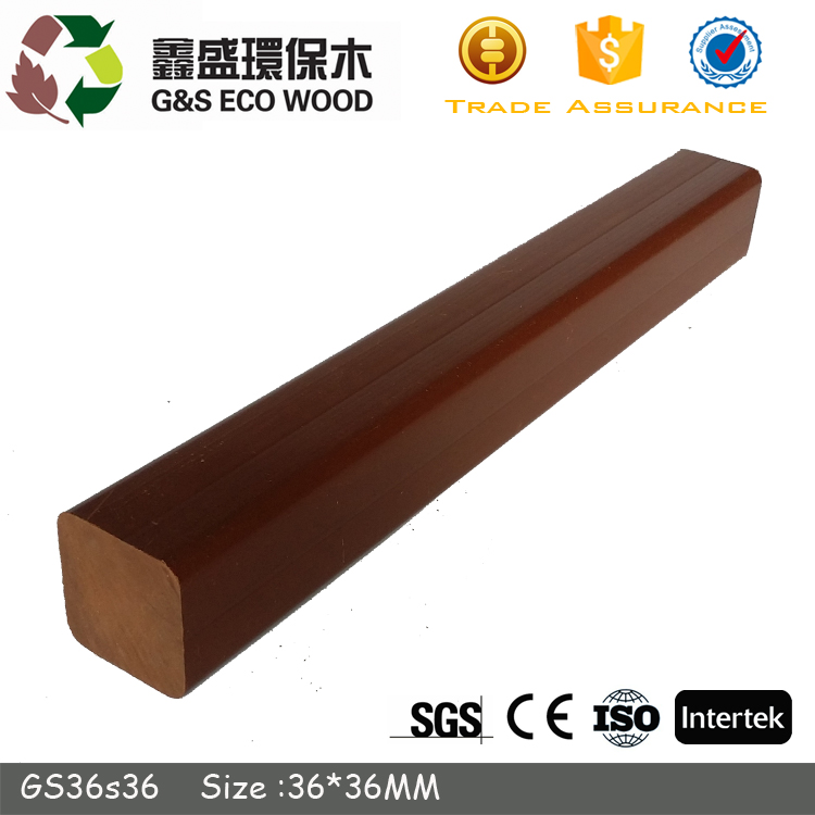 low price wood plastic composite wpc keel outdoor rotproof wpc joist for wpc decking