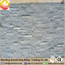 Natural Grey Slate Stone Panels For Wall Cladding