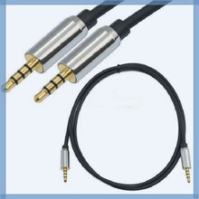 High quality male to male 3.5mm stereo plug car audio aux cable