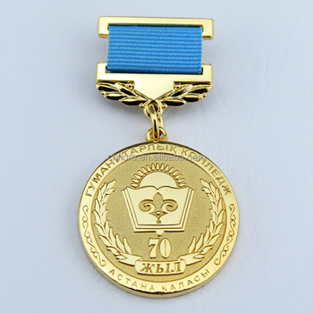 factory direct sale gold medal award
