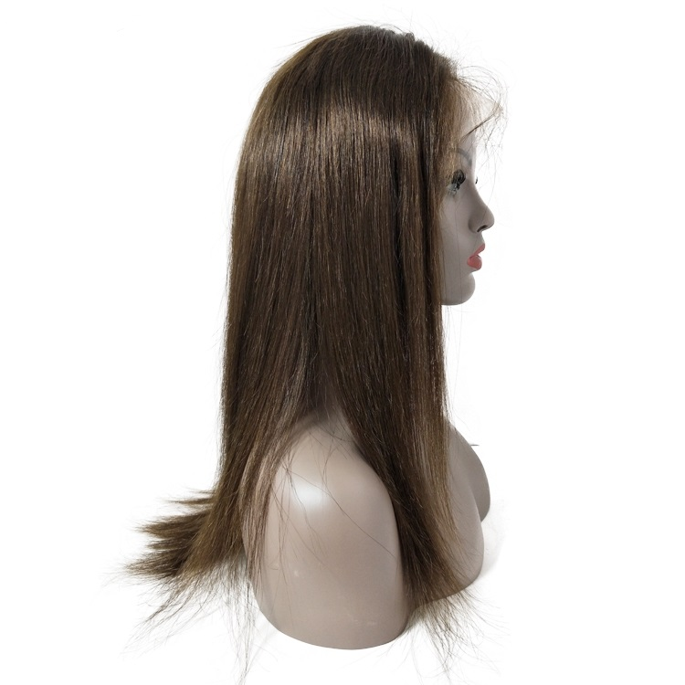thick tangle free human hair wig blonde lace wig china wig supplier