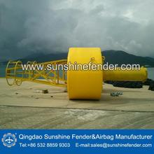 High weather resistance CMB2400mm UHMWPE marine buoy from China