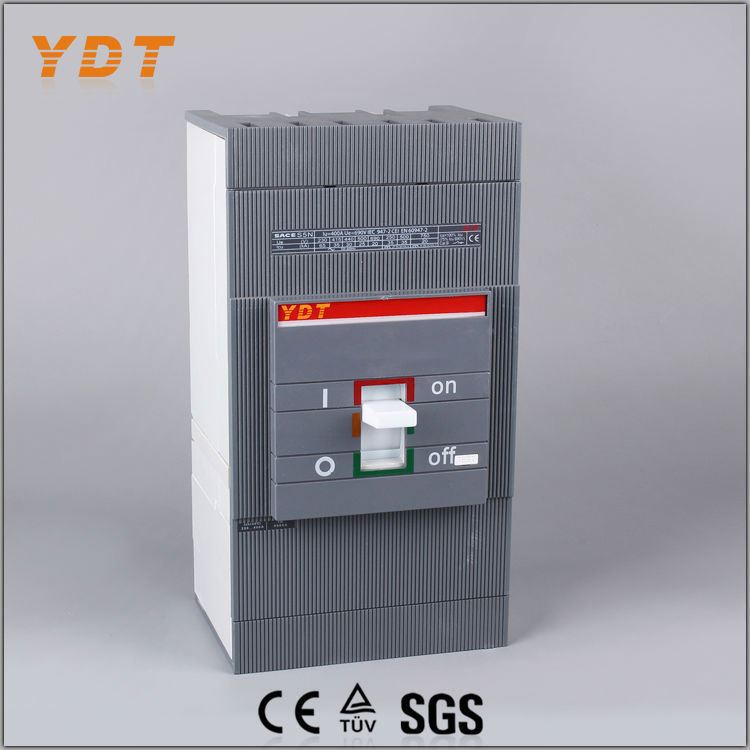 YDT mccb ratings hot sale mccb 3 phase electrical circuit breaker moudled case circuit breaker