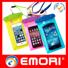 2015 hot selling eco-friendly IPX8 waterproof phone case for iphone 6