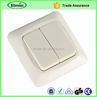 White Color wall switch wall switch hidden camera wall mount switch