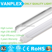 Epistar led tube t8 18w 4ft factory top selling