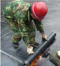 SBS modified asphalt flat waterproof membrane roll for roofing-- in cheap price