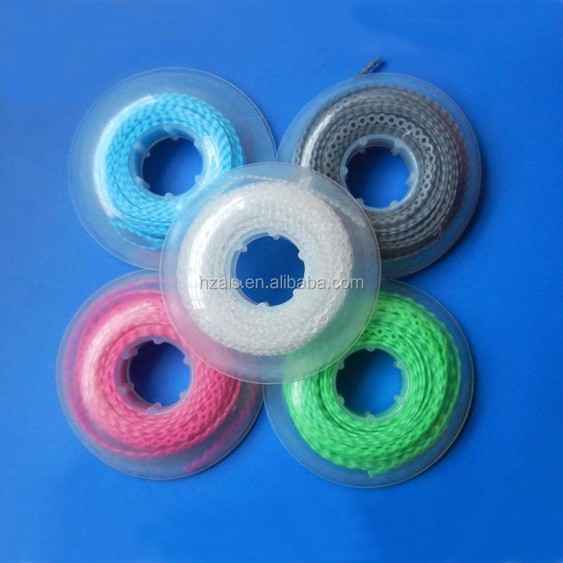 Dental wholesale price 15 feet per roll orthodontic power chain with 24 colors service