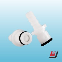 "1/4"" plastic quick connector Medical Coupling"
