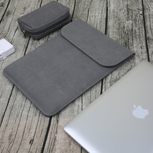 wholesale Laptop Bag practical waterproof leather notebook case bag for Macbook Air/Pro 11 12 13 15 inch fashion Laptop Sleeve