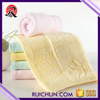 China Home Use Personalized Bamboo Face Towel