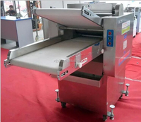 Stainless steel dough kneading machine/flour dough roller machine/ automatic dough sheeter
