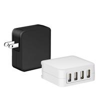 5 V 8A 4 port 2 amp usb wall charger with EU US UK Plug