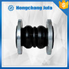foshan plumbing fittings dn100 pn16 double sphere union type rubber joint