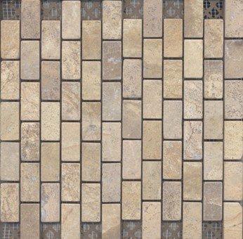 Mosaico de piedra para exterior e interior decoracion for Mosaicos para exterior