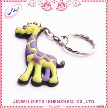 Short time delivery wholesale price custom metal name keychain