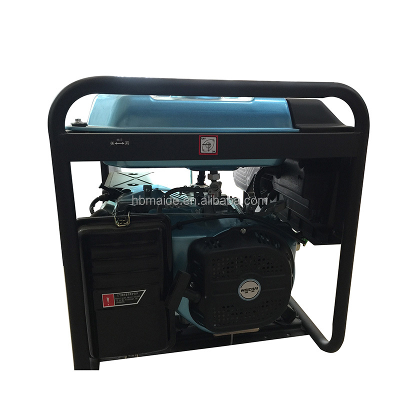 home use 4/6 cylinder natural gas best quality 5kw generator for communication
