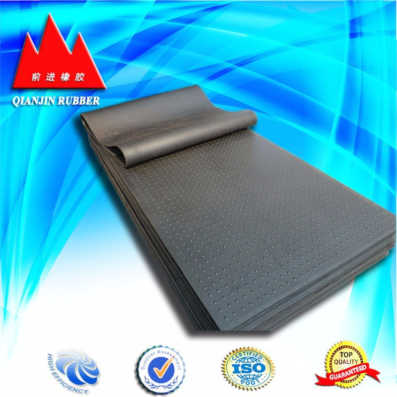 Oil Resistant Nitrile NBR Rubber Mat with high quality