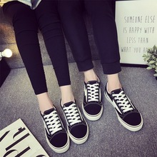 SS0071 2018 spring stylish lovers canvas shoes fashion men plus size lace-up shoe