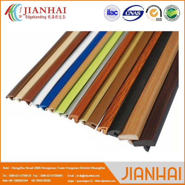 Decorative furniture metal trim for glass edge protection