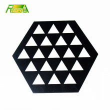 factory direct decorative hot sale high quality metal coffee pot mat
