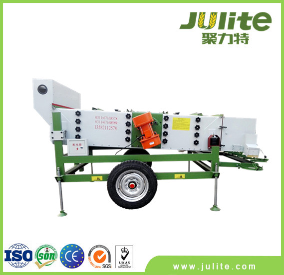 Pea Processing Machine for seprating the peas in different sizes!