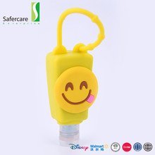 New design custom capacity silicone antibacterial holders hand sanitizer factory