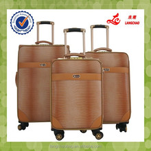 PU Leather Material Color Changed Flight Case Four Wheel Flight Case Trolley Bag