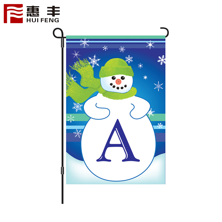 Design your own flag ,red white green flag for seasonal decoration