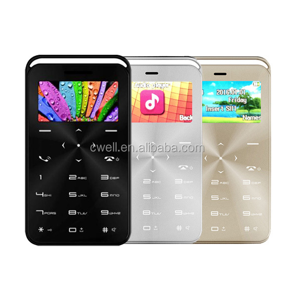 Daxian GS6 MTK6261D Chipset Single SIM Magic Voice changer 1.69 Inch Mini Cell Phone Card Phone