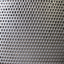 2016 Hebei hexagonal perforated aluminum metal sheet/punching hole meshes