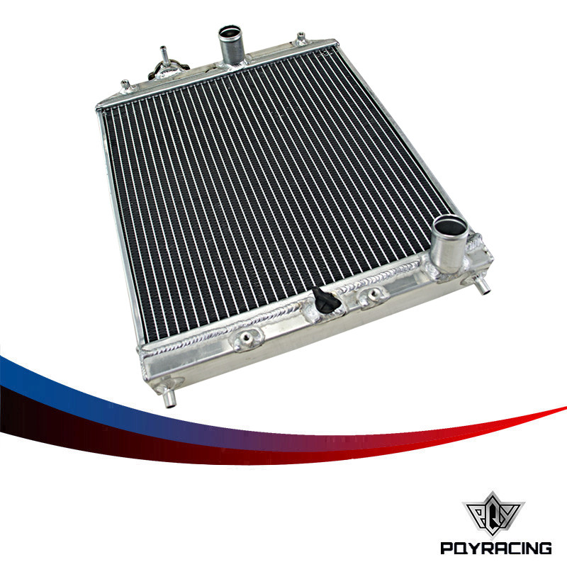 PQY RACING-2 Row 42MM Aluminum car auto Radiator for Honda Civic Del Sol 92-00 MT EG / EK PQY-SX103