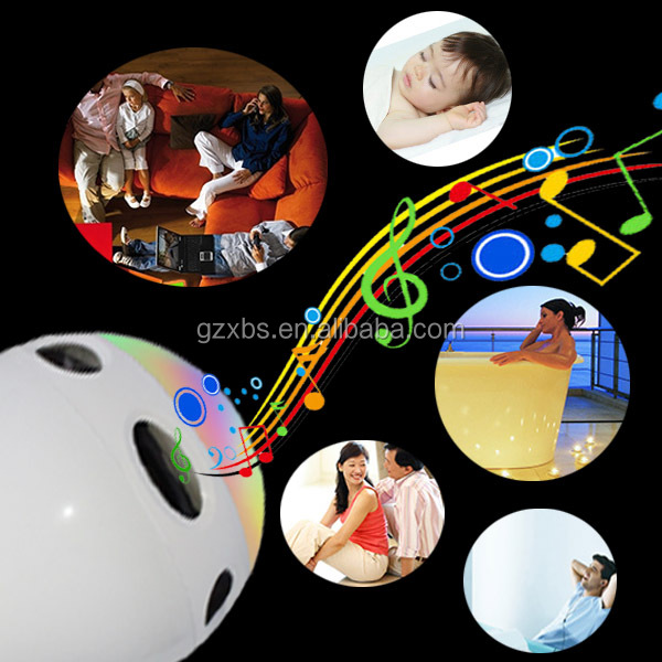 Promotional gifts 2015 new music mini bluetooth speaker with led light made in china