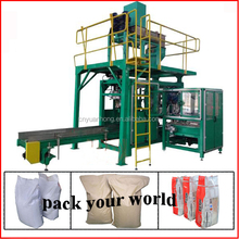 animal feeds fish meal packing machine for 25kg to 50kg bags
