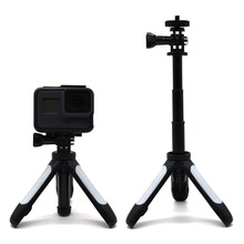 Hot Sale Mini Tripod Selfie Stick for <strong>Gopros</strong> and Other Action Cameras Mini Tripod Telescopic Pole