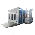 Longxiang factory price semi downdraft spray booth for sale LX-E2
