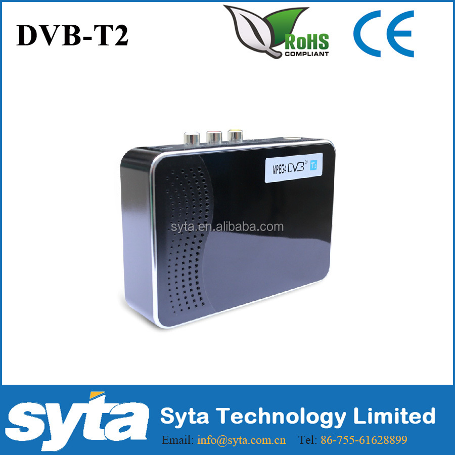 Mini dvb-t2 Digital Decoder for Thailand, Singapore, Malaysia, Colombia,Russia