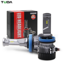 Super Small Volume All connectors Optional Newest Headlight Led H4,Super Bright Mini Cooling Fan H4 Car Led Headlight