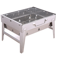 High quality stainless steel commercial charcoal bbq grill