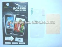 98%transparence 3 layers clear screen protector for Iphone 3g