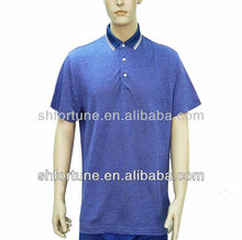2013 polo shirt for men--- hemp and silk blended new fabric T-shirt
