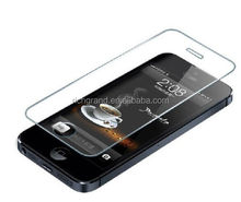 touch glass protective film tempered screen protector for iphone 5/5S