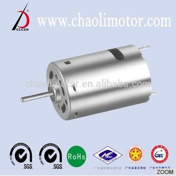 Brushed dc motor CL-RS385SH 12V for copy machine chaoli 28mm