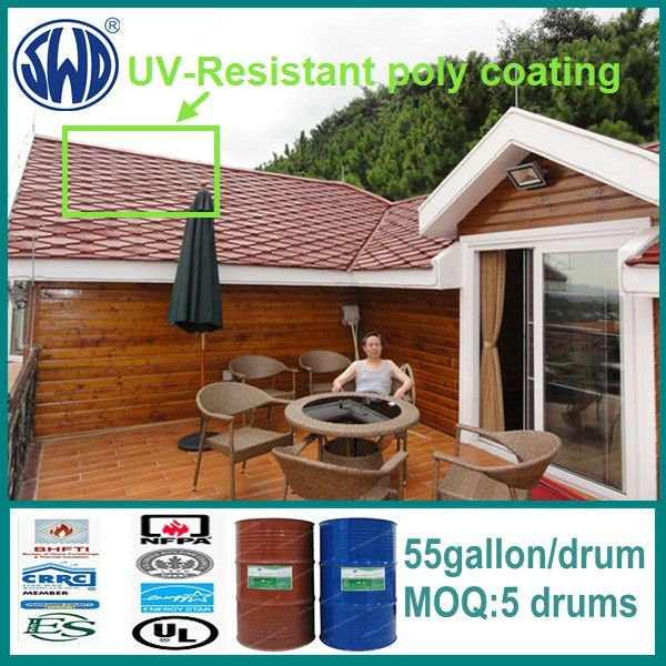 two component UV resistance protection coating