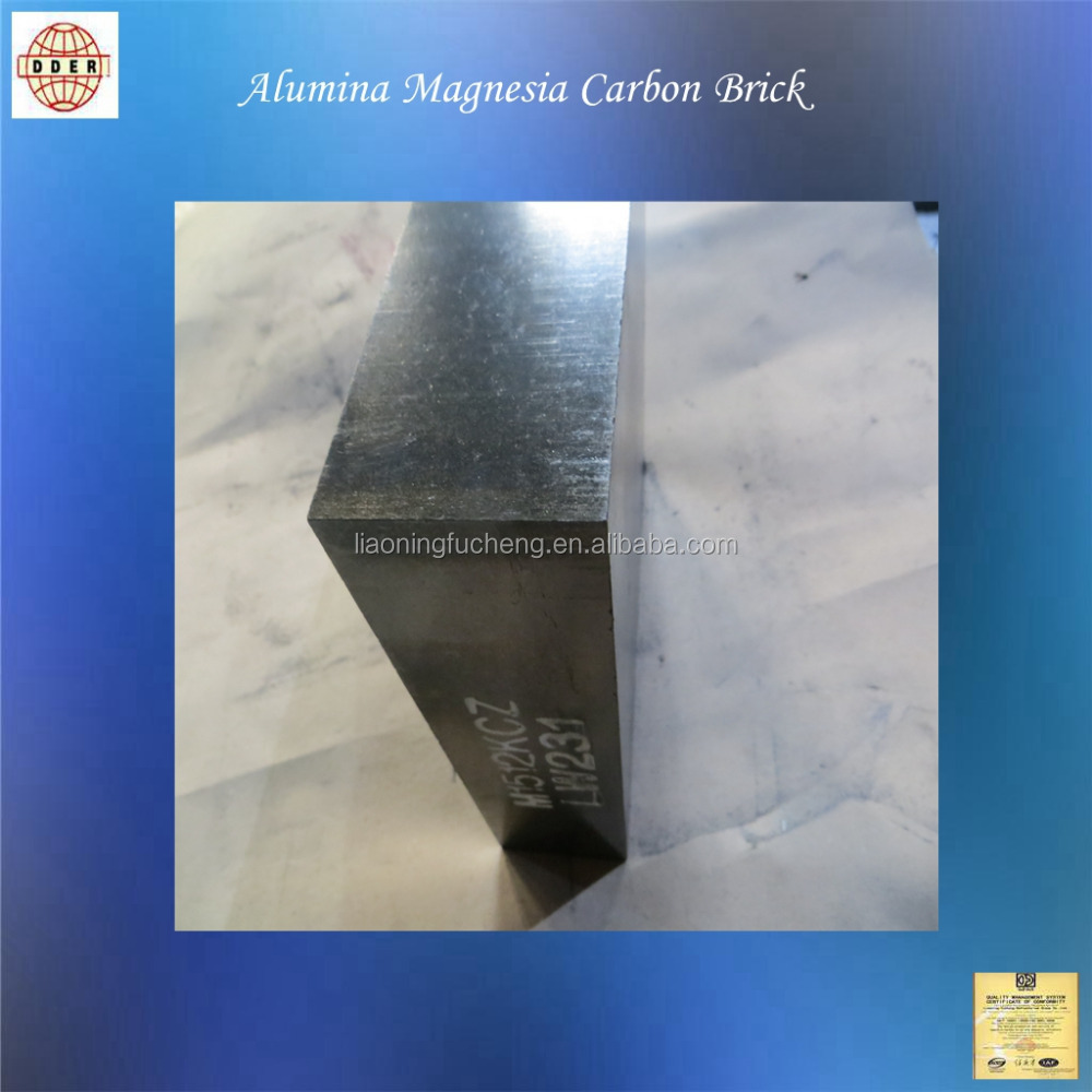 FC Al-Mg-C Ladle bottom refractory bricks
