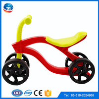 2016 hot sale new PP material cheap price 4 wheels baby promotive bundling gift baby toys