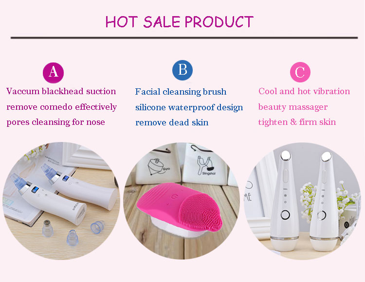 Portable Beauty Equipment Vacuum Suction Pores Cleaner Comedo Blackhead Remover