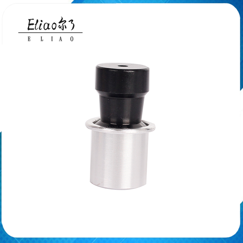 Fashion Make Black Silver Portable Metal Cylinder Smoking Pipes
